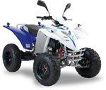 Adly ATV 50 RS XXL AC weiß-blau