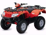 Arctic Cat ATV 500 EFT Bj. 09