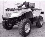 Arctic Cat ATV 550 H1 TRV EFI EFT T3 Bj. 11