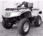 Arctic Cat ATV 700 H1 EFI EFT T3 Bj. 2010