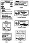 Passendes Ersatzteil: Aufkleber & Hinweis - Schilder
