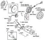 Passendes Ersatzteil: Lichtmaschine, Anlasser & Ölpumpe