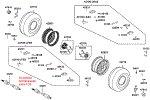 Passendes Ersatzteil: Räder hinten mit Bremse & Antriebswelle
