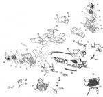 Passendes Ersatzteil: Verkleidungsteile vorne Scheinwerfer Rahmen