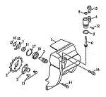 Passendes Ersatzteil: Seitendeckel mechanischer Tacho