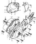 Passendes Ersatzteil: Motorgehäusedeckel