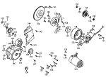 Passendes Ersatzteil: Lichtmaschine, Anlasser & Gehäusedeckel