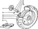 piaggio skipper 125 2 takt skr hinterrad ersatzteile. Black Bedroom Furniture Sets. Home Design Ideas