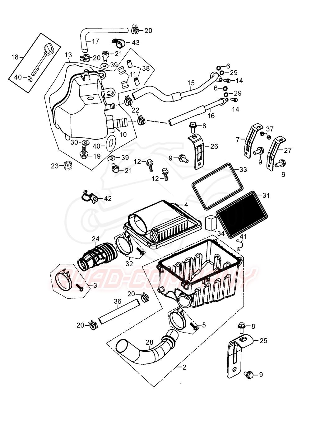 beeline bestia 5 5 onroad lof luftfilter ltank ersatzteile. Black Bedroom Furniture Sets. Home Design Ideas