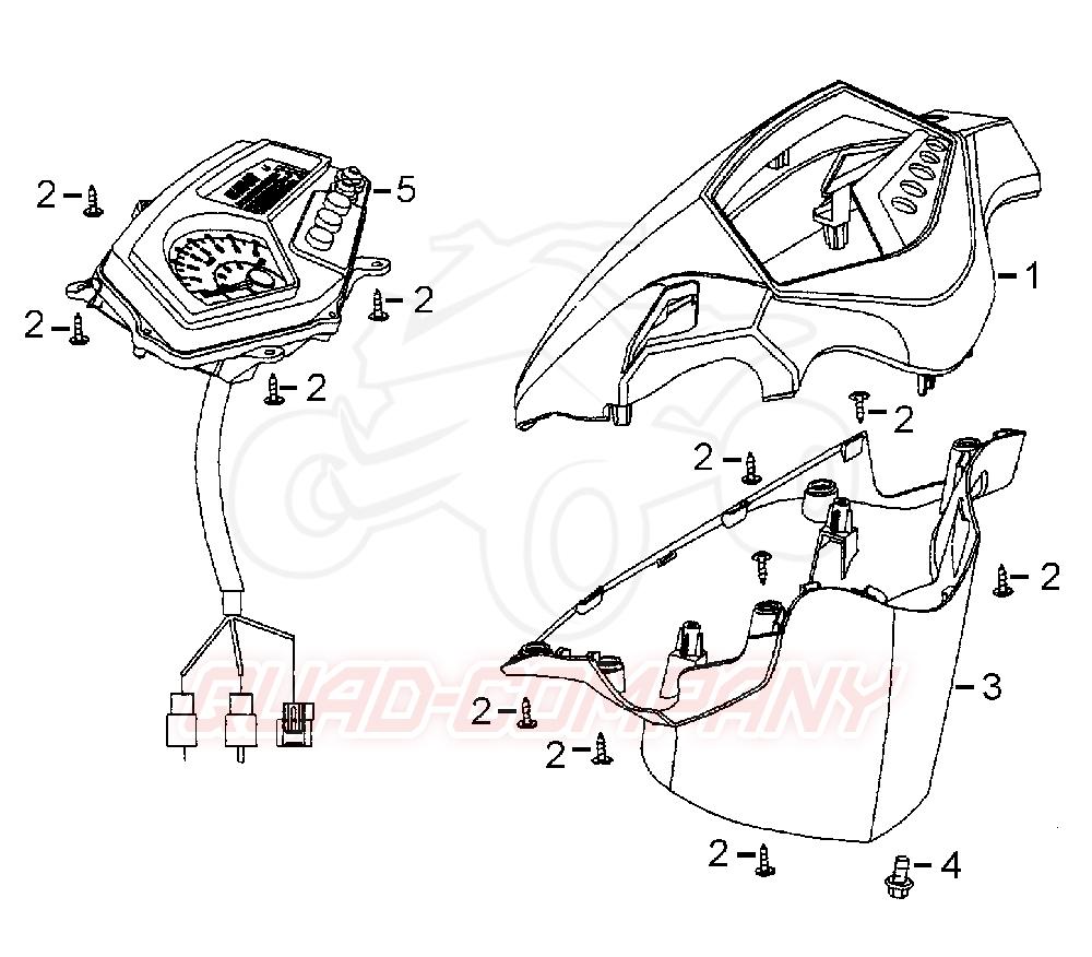 beeline pista 50 lc lenkerverkleidung tachometer ersatzteile. Black Bedroom Furniture Sets. Home Design Ideas
