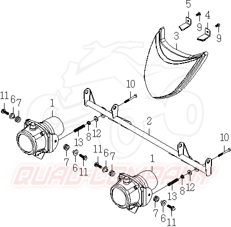 explorer trasher 520 supermoto lof scheinwerfer ersatzteile. Black Bedroom Furniture Sets. Home Design Ideas