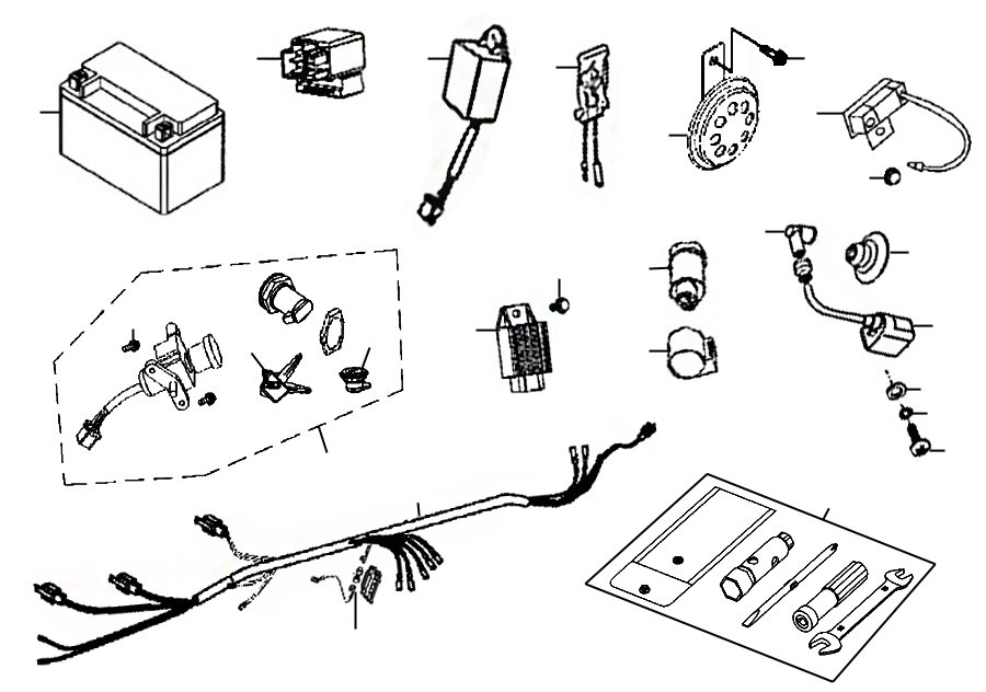 kreidler florett rmc 50e mod 06 08 elektrische. Black Bedroom Furniture Sets. Home Design Ideas