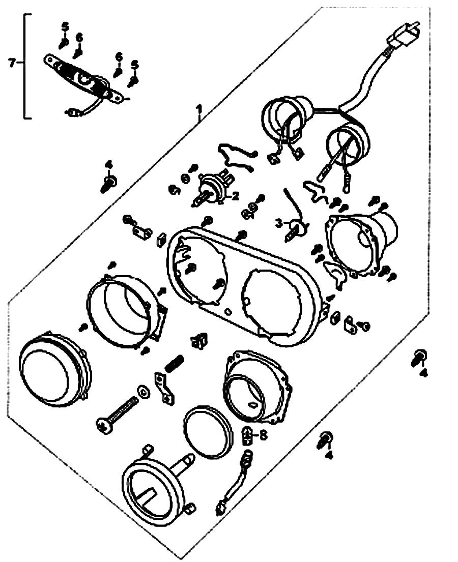 kreidler florett rmc 50e mod 06 08 frontscheinwerfer. Black Bedroom Furniture Sets. Home Design Ideas