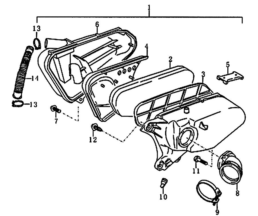 kreidler florett rmc 50e mod 06 08 luftfilter ersatzteile. Black Bedroom Furniture Sets. Home Design Ideas