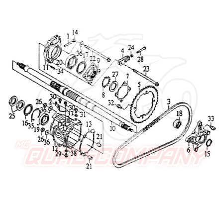 smc quad 250ccm 2 zyl antrieb mit r ckw rtsgang ersatzteile. Black Bedroom Furniture Sets. Home Design Ideas