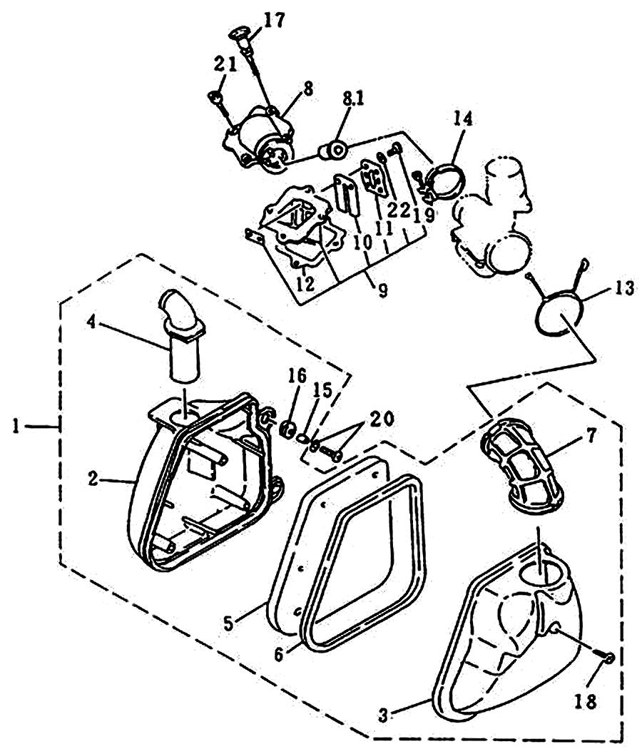 rex 50 scooter luftfilter und einlasssteuerung ersatzteile. Black Bedroom Furniture Sets. Home Design Ideas