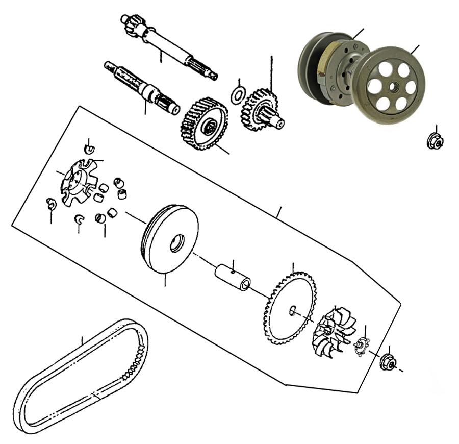 rex monaco 50 race getriebe kupplung ersatzteile. Black Bedroom Furniture Sets. Home Design Ideas