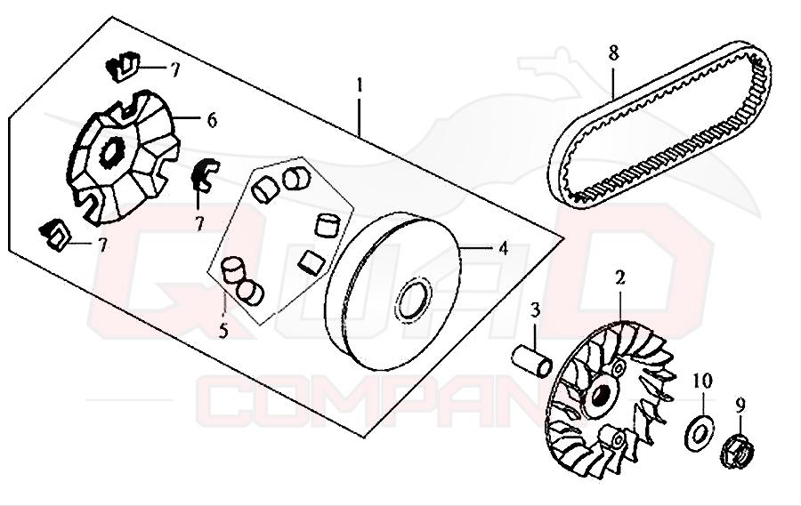 sym gts 125 lm12w 6 variomatik ersatzteile. Black Bedroom Furniture Sets. Home Design Ideas