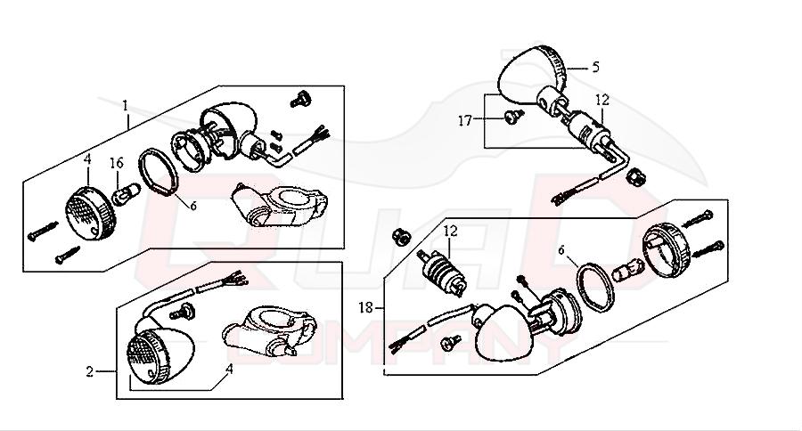 sym husky 125 n125a1 6 blinker ersatzteile. Black Bedroom Furniture Sets. Home Design Ideas