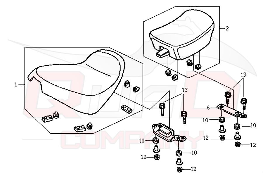 sym husky 125 n125a1 6 sitzbank ersatzteile. Black Bedroom Furniture Sets. Home Design Ideas