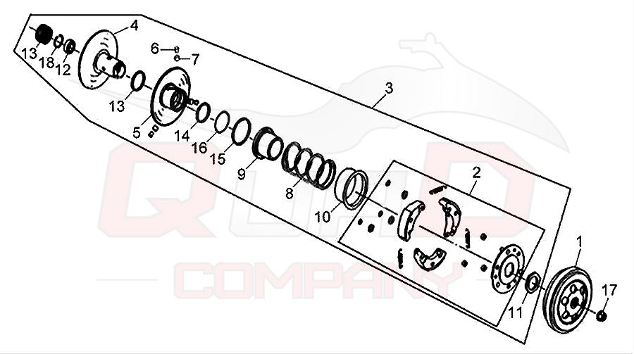 sym symphony 50 sr az05w1 t kupplung wandler ersatzteile. Black Bedroom Furniture Sets. Home Design Ideas