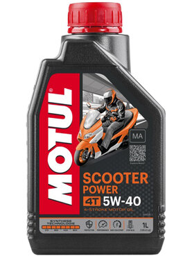 4-Takt Motorenöl Motul Scooter Power 5W40 1 Liter